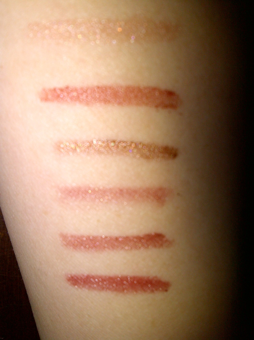 Swatches with flash in the same way stated above