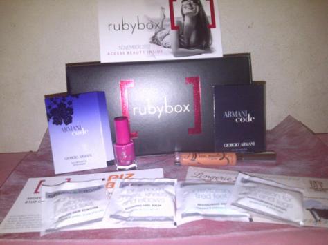 The november rubybox