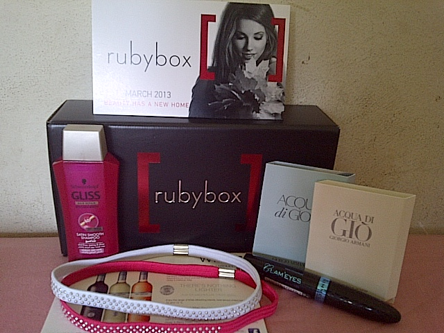 March rubybox