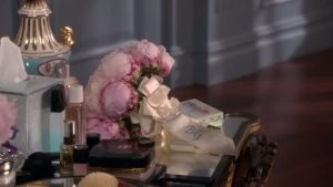Blair's dressing table. Hello Chanel