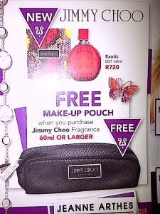 Spotted this special at dis-chem. Gorgeous free makeup bag