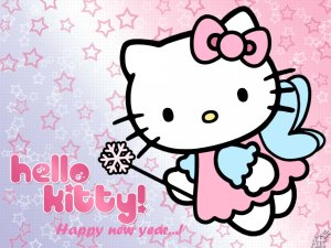 hello-kitty-wishing-happpy-new-year