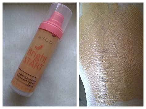 avon bright start foundation