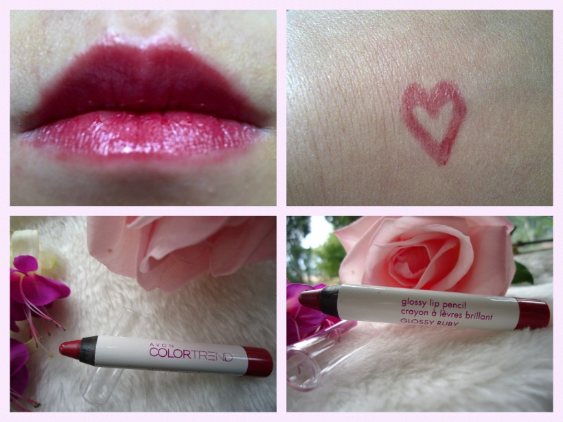 avon glossy lip pencil
