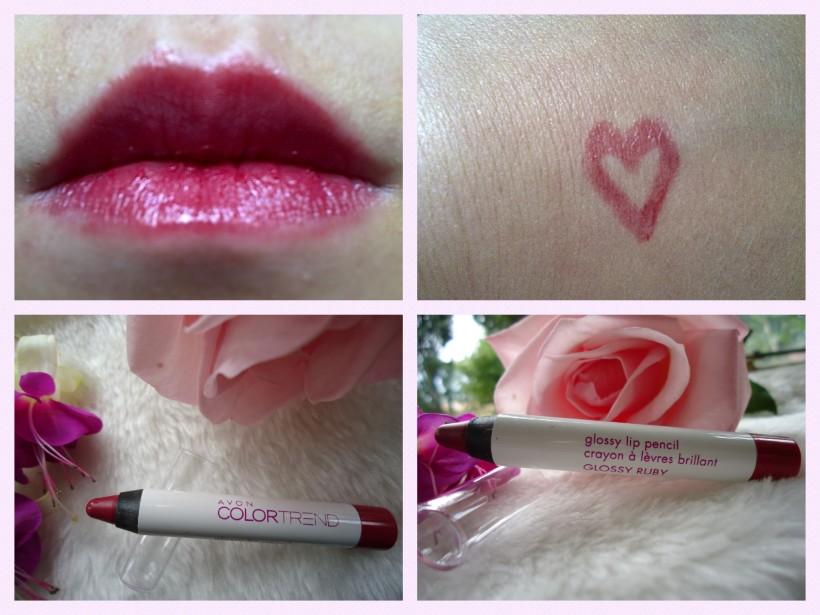 avon glossy lip pencil