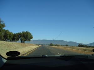 What a view of the Magaliesburg mountain