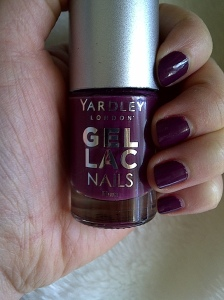 yardley gel lac nails plum