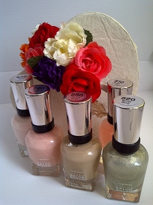 Sally hansen bridal nail polish