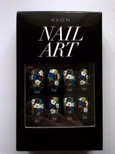 avon nail art press-on nails