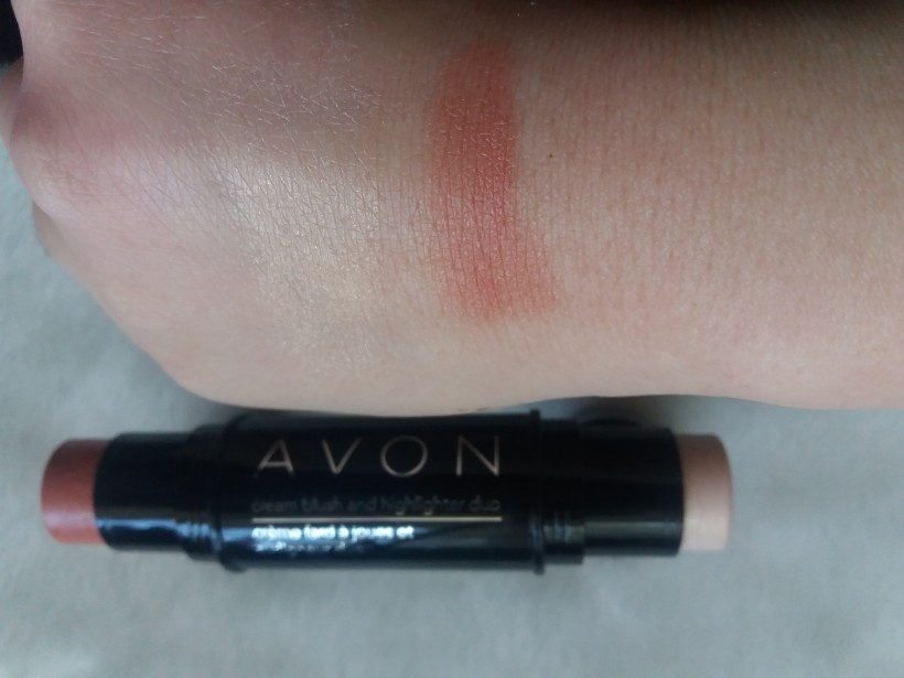 Avon cream blush and highlighter duo