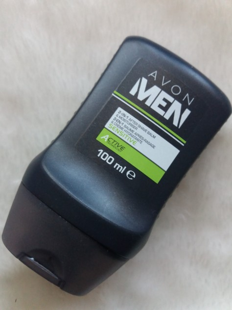 Avon men 2 in 1 after shave balm & moisturiser