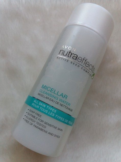 Avon nutraeffects micellar cleansing water&mak