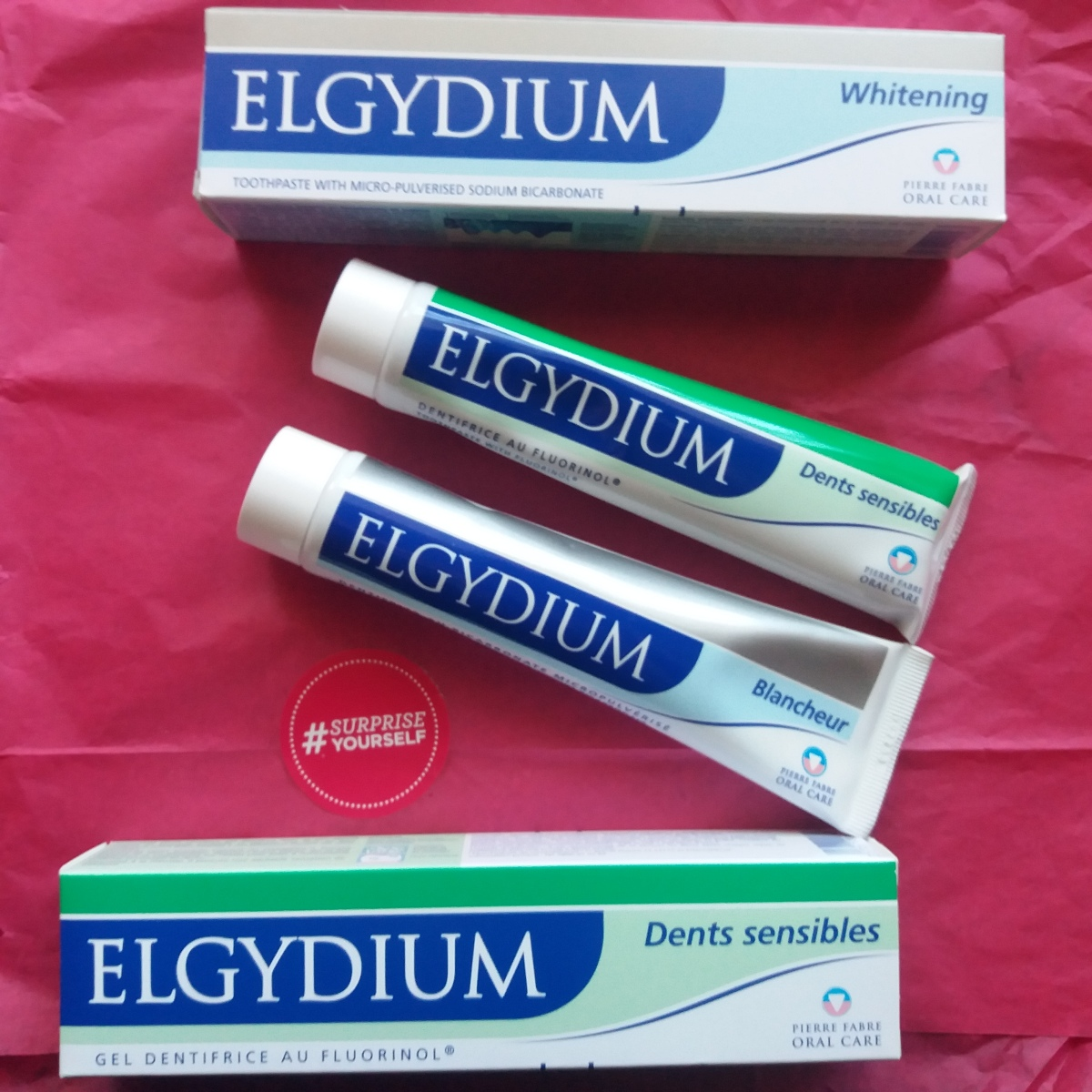Review: Elgydium tooth paste (whitening and sensitive)