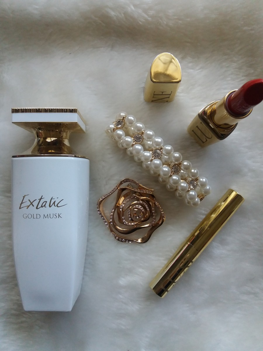 Review Balmain Extatic Gold Musk EDP