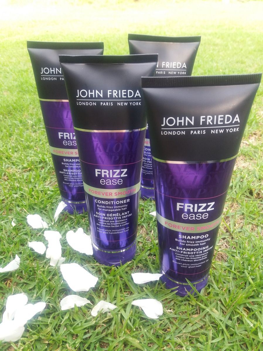 Review: John Frieda Frizz ease forever smooth and I discuss the craze that is reverse hair washing