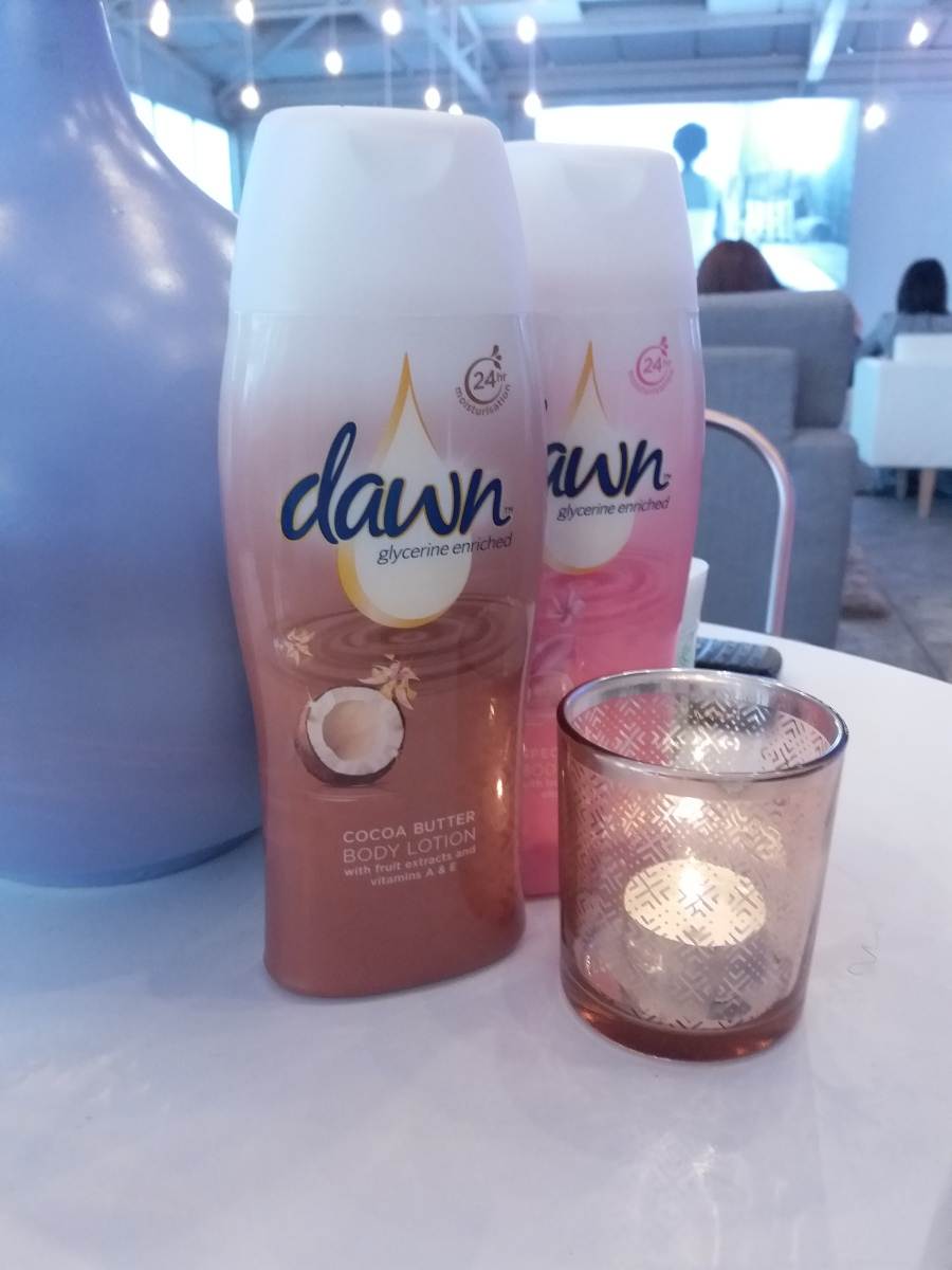 Dawn body cream and lotion re-rising
