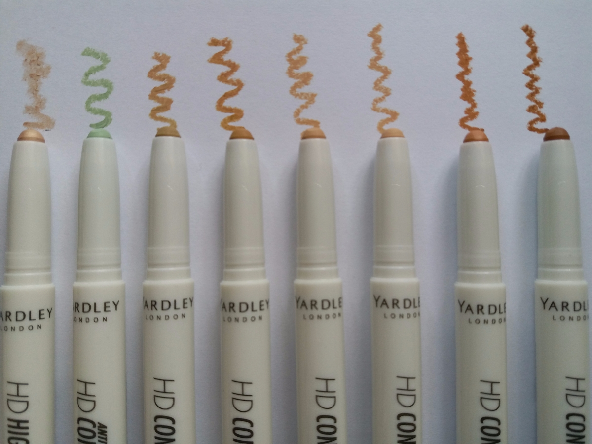 Review: Yardley HD Concealer Pen